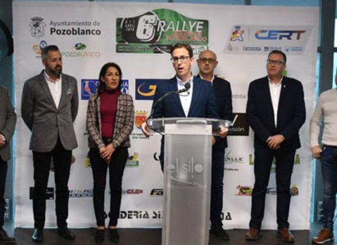 El 6º Rallye de Tierra Ciudad de Pozoblanco se disputa este fin de semana con 72 equipos