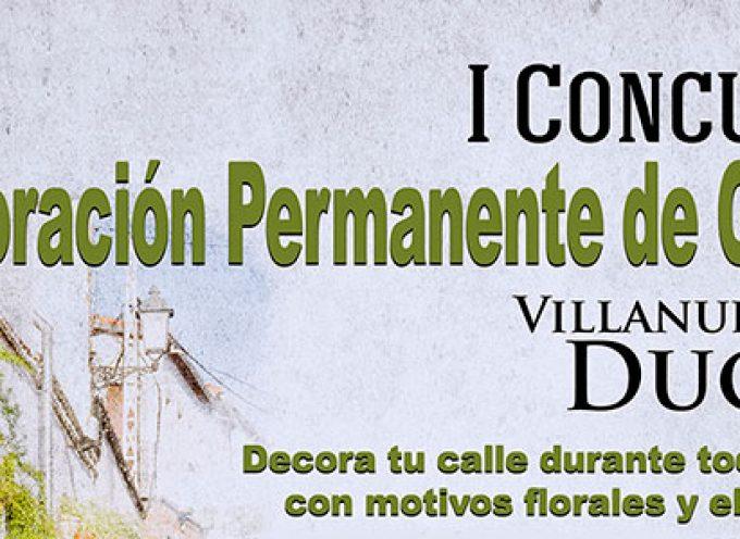 Un concurso de 'Decoración Permanente de Calles' en Villanueva del Duque