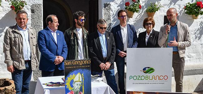 La Fiesta y Verbena de San Gregorio de Pozoblanco recupera el tradicional arco de entrada al barrio