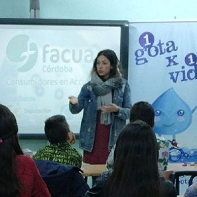 Escolares de Villaralto, Alcaracejos, El Viso, Santa Eufemia y El Guijo participan en talleres sobre uso responsable del agua