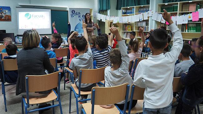 Escolares de El Viso participan en los talleres sobre uso responsable del agua