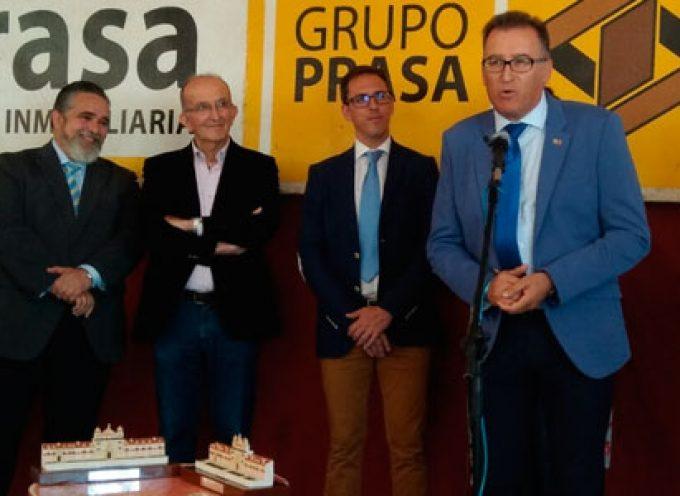 Juan Bautista Carpio y la asociación Piedra y Cal, premiados en la comida anual de la Casa de Los Pedroches en la Feria de Córdoba