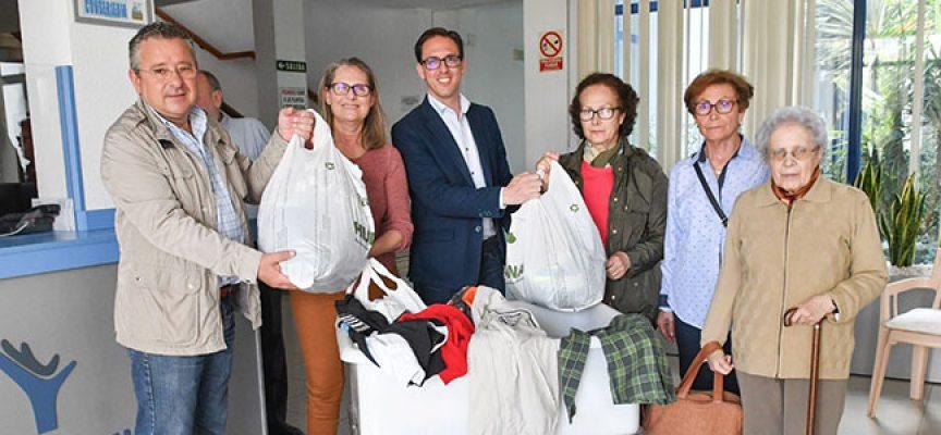 El Ayuntamiento de Pozoblanco dona a San Vicente de Paúl ropa y calzado