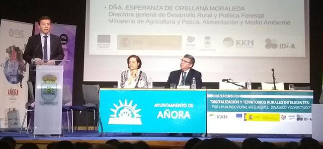 La Junta ve en la digitalización del sector agrario un reto y una oportunidad que permite aumentar su competitividad