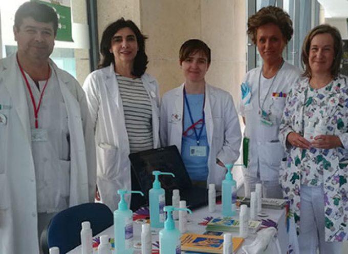 El Hospital Valle de los Pedroches aumenta en un 30 por ciento los puntos disponibles de soluciones hidroalcohólicas