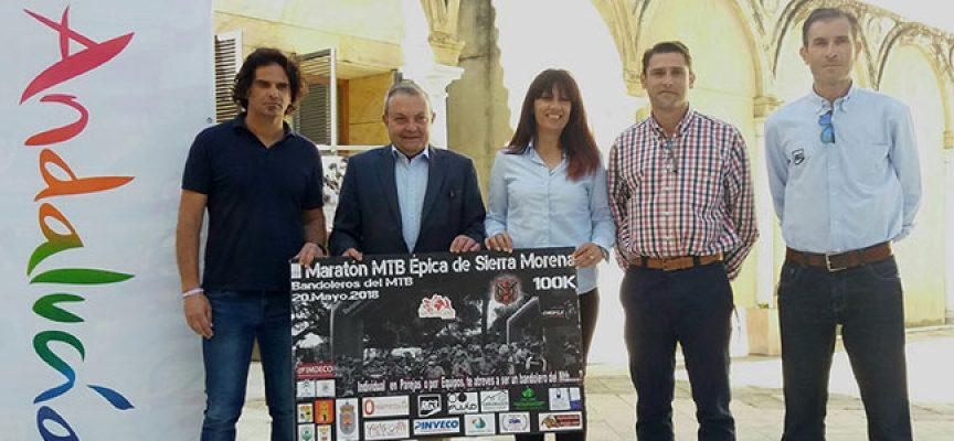 Presentada la III Maratón MTB Épica de Sierra Morena, Bandoleros del MTB, pasará por Alcaracejos