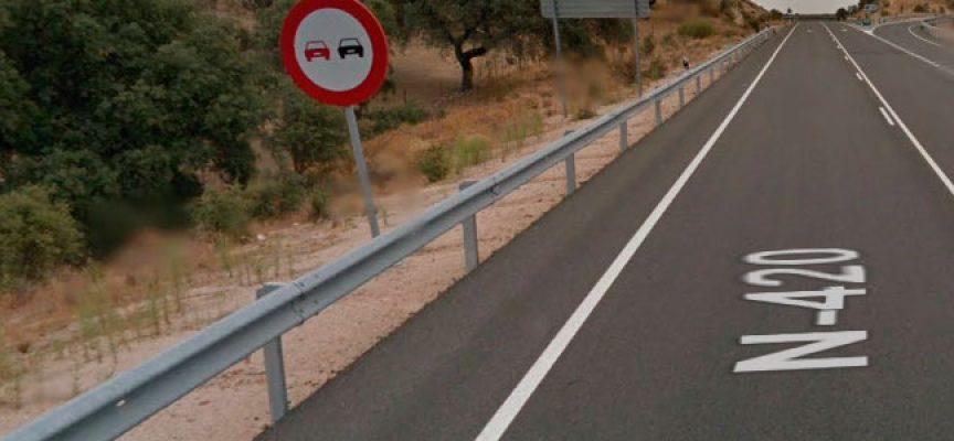 Dos personas han fallecido en Cardeña por una colisión frontal