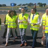 La Junta finaliza las obras de seguridad vial en la A-424 tras una inversión de 1,34 millones de euros