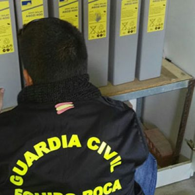 Desarticulada una banda que robó en la estación de agua de Belalcázar y en un repetidor de Santa Eufemia