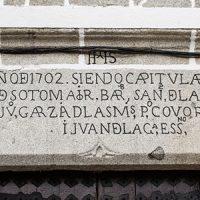 Las inscripciones de 'los ayuntamientos' de Pedroche y ¿el artesonado?