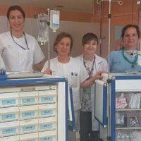 El Área Sanitaria Norte adquiere carros de medicación que mejoran la calidad asistencial y seguridad del paciente