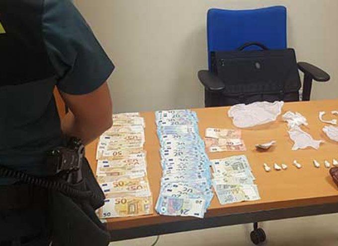 La Guardia Civil detiene en Villanueva del Duque a una persona como supuesta autora de un delito contra la Salud Pública