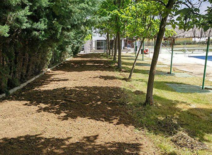 Obras de mejora en la piscina municipal de Villaralto