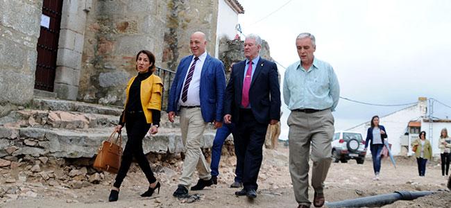 La Diputación de Córdoba invierte 1,2 millones de euros en Pedroche en los tres primeros años de mandato