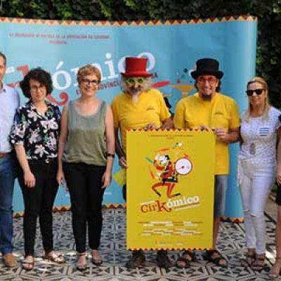 La Diputación lleva a Alcaracejos, Cardeña y Pozoblanco una nueva edición del festival de circo 'Cirkómico'