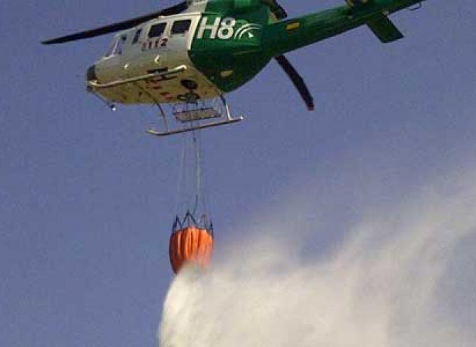 Se ha declarado un incendio en Belalcázar, en el parajeCachiporro