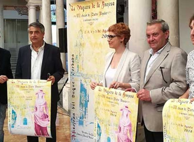 El delegado de Cultura muestra el apoyo de la Junta  a 'La vaquera de la Finojosa'