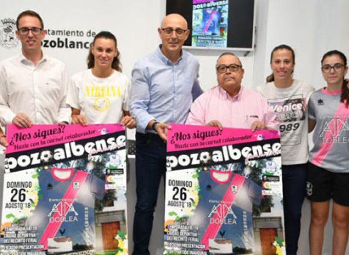 El Pozoalbense Femenino llevará la Marca Pozoblanco en sus partidos de pretemporada