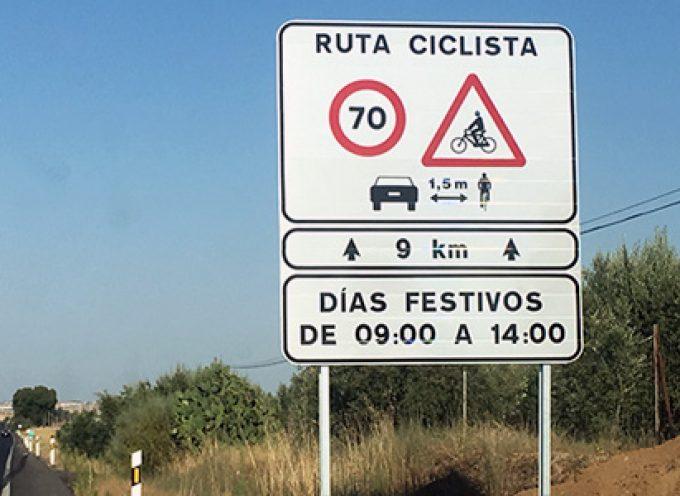 Si es festivo y por la mañana, la velocidad máxima en el tramo Pozoblanco – Alcaracejos es de 70 km/h
