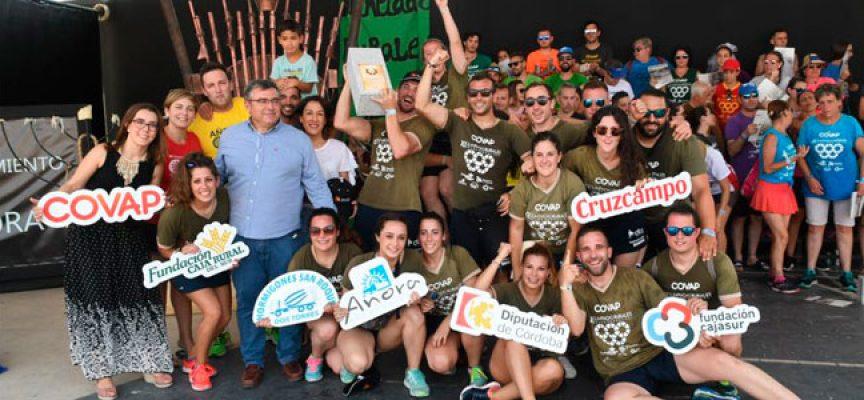 Los '18 principales' ganan las Olimpiadas Rurales en un apretadísimo final con 'La Cabaña'