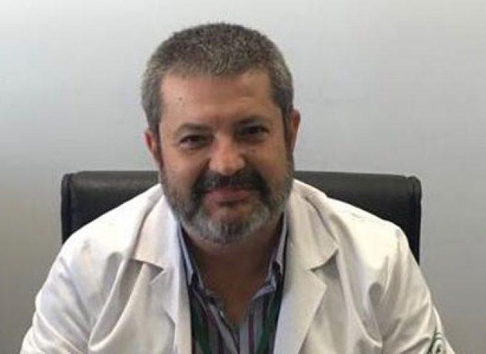 El jarote Pedro Manuel Castro Cobos, director-gerente de la Agencia Sanitaria Alto Guadalquivir