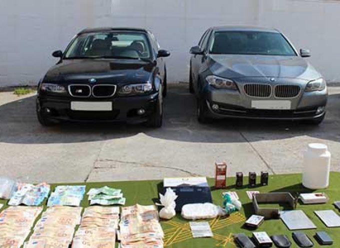 La Guardia Civil en una Operación desarrollada en Pozoblanco interviene aproximadamente 800 dosis de cocaína