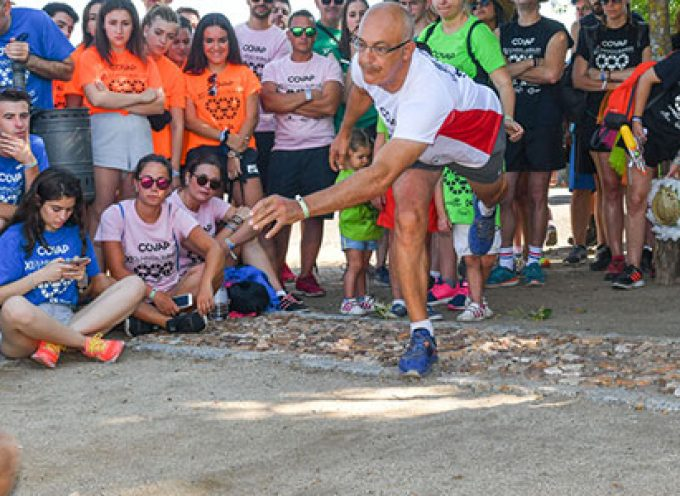 Mizos, carreras de sacos, tiraeras…, sábado olímpico en Añora