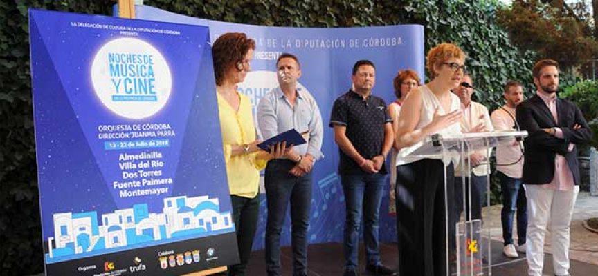 'Noches de música y cine' llevará las mejores bandas sonoras cinematográficas a Dos Torres