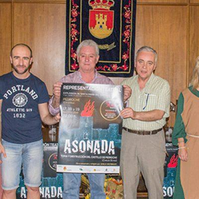Una nueva oferta cultural en Los Pedroches, la representación teatral 'Asonada' en Pedroche