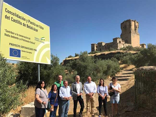 La Junta de Andalucía ha invertido más de tres millones de euros en el Castillo de Belalcázar