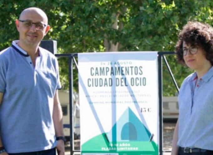 Juventud y Deportes lanzan los Campamentos Ciudad del Ocio para jóvenes en el Camping de Pozoblanco