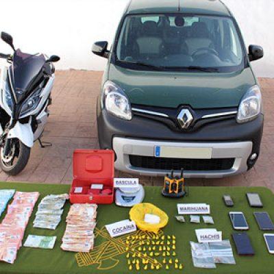 Detenidas cuatro personas de un clan familiar, como supuestas autoras del delito de tráfico de drogas en Villanueva de Córdoba