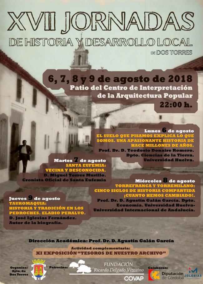 XVII Jornadas de Historia y Desarrollo Local de Dos Torres