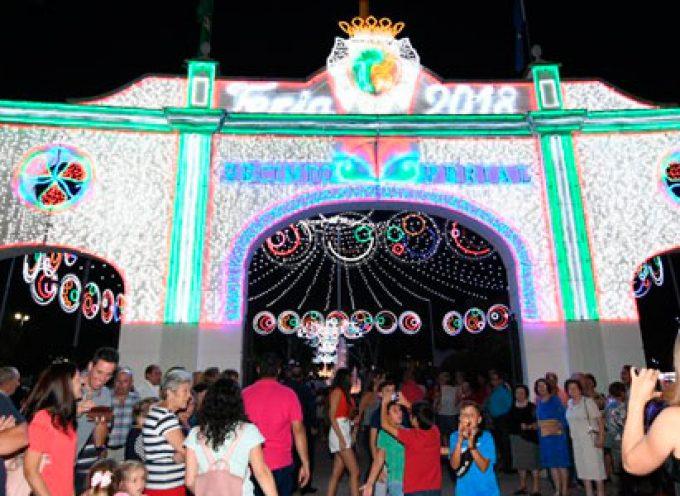 La Feria de Pozoblanco abre sus puertas con el espectáculo de fuegos artificiales