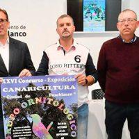 El XXVI Concurso-Exposición de Canaricultura espera contar con la participación de 1.500 ejemplares