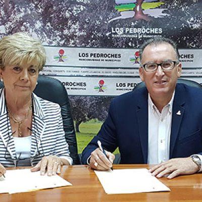 La Mancomunidad de Los Pedroches y el Centro de Iniciativas Empresariales y Turísticas firman un convenio de colaboración