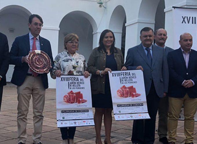 La Feria del Jamón Ibérico de bellota alcanza la 18ª edición con dos días de degustación