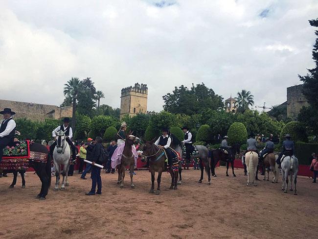 Pedroche promociona la Fiesta de los Piostros en la II Feria Internacional de Turismo Ecuestre