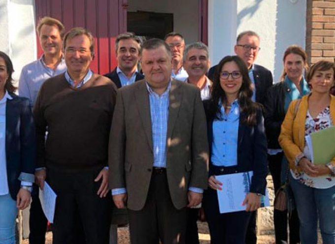 Francisco Zurera se reúne con representantes del sector ovino de Los Pedroches