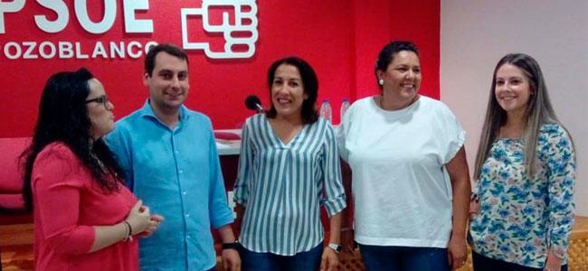 De campaña en Pozoblanco para poner en valor los Planes de Empleo de la Junta de Andalucía