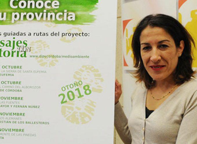 Santa Eufemia e Hinojosa del Duque en el programa 'Conoce tu provincia 2018' para otoño de Diputación
