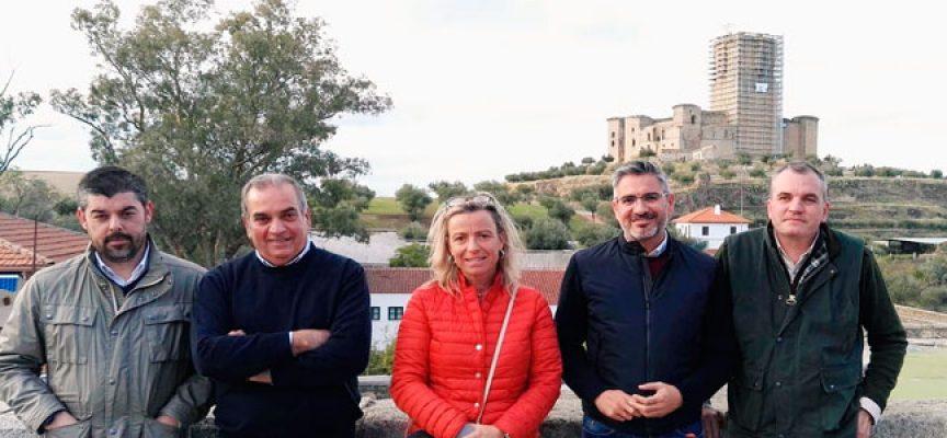 Ciudadanos asegura que fiscalizará la rehabilitación del castillo de Belalcázar