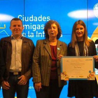 Dos Torres renueva su declaración como Ciudad Amiga de la Infancia para el período 2018-2022