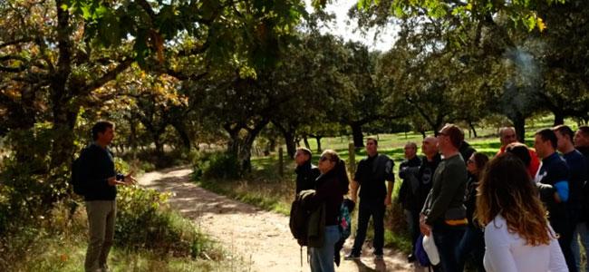 El Parque Natural Sierra Cardeña-Montoro acoge una visita de personal interno del Centro Penitenciario de Córdoba