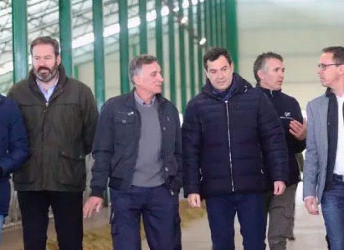 Juanma Moreno, desde Añora, anunció que creará en su gobierno una Vicepresidencia para el sector agrícola y ganadero