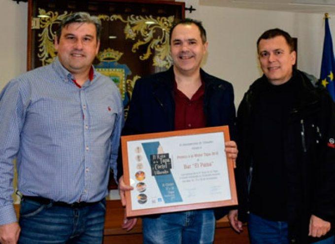 Los premiados en las rutas de la tapa de Villaralto e Hinojosa del Duque
