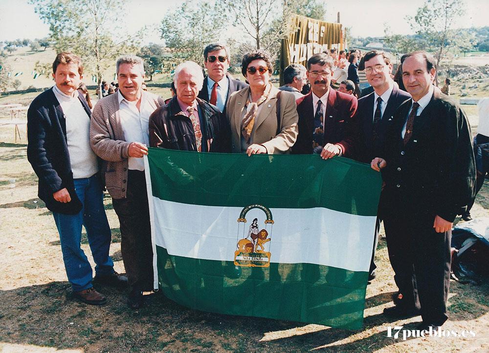 los pueblos de Los Pedroches se reunieron para celebrar el Día de Andalucía