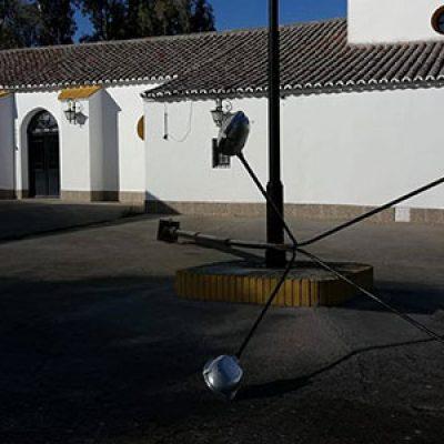 Posible robo de cable en la ermita de la Virgen de la Antigua de Hinojosa del Duque