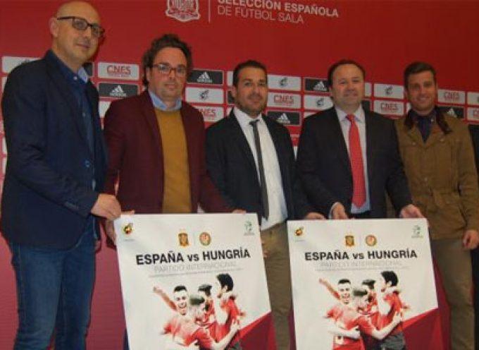 El España-Hungría de fútbol sala se disputará en Pozoblanco