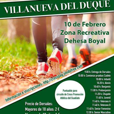 I Cross Villanueva del Duque